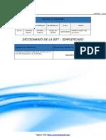 FGPR_020_05 - Diccionario de la EDT - Simplificado