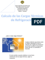 CALCULO DE CARGAS TÉRMICAS