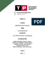 TAREA 05 - HIDRODINÁMICA