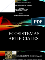 ECOSISTEMAS MODIFICADOS POR EL HOMBRE 1