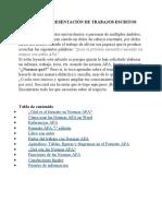 NORMAS APA (INFORMACION)