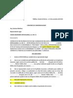 convenio de confidencialidad CODISA original
