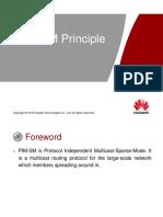 4. ODA062006 PIM-SM Principle ISSUE1.01