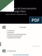 03 Decisiones de financimiento CP y LP