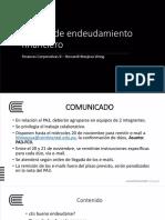 04 Política de endeudamiento financiero