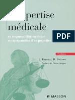 L'expertise médicale en responsabilité médicale et en réparation du préjudice corporel