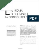 A NOVIA DE CORINTO_ LA EXPIACIÓN DEL PAGANO