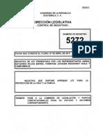 inictiva ley para la proteccion de la familia y la vida 5272