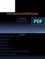 Soft and Softer Handover in WCDMA