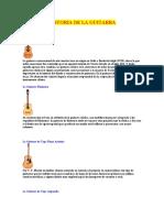 2. HISTORIA DE LA GUITARRA