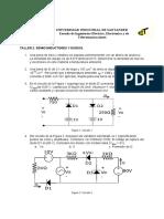 Taller 2 (Semiconductores y diodos)