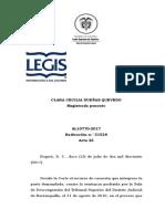 CSJ SL 51526-17 Efectivización de despido por pensión de vejez NO requiere opinión del trabajador sobre seguir cotizando