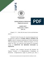 CSJ SL 58571-17 Determinan aplicación del régimen de transición a efectos de reclamar pensión de vejez