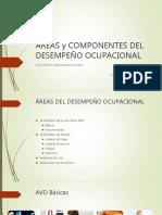 Componentes y ares de desempeño