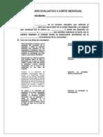 CUESTIONARIO EVALUATIVO III CORTE INDIVIDUAL MEAD