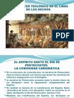 EL QUE HACER TEOLÓGICO DE DEL LIBRO DE LOS HECHOS. 1x