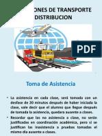 1 OPERACIONES DE TRANSPORTE Y DISTRIBUCION