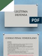 UPDF LEGITIMA DEFENSA