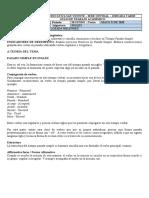 INGLÉS NOVENO SEGUNDO PERIODO guías para imprimir