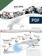 Toyota Annual Report 2010