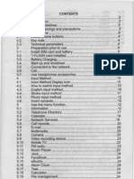 User Manual XPhone X897