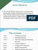 Unit 1- Marketing Concept