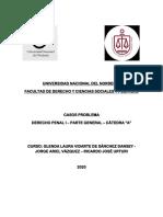 Cuadernillo de Casos penales - Parte General
