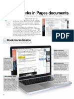 Use bookmarks in Pages documents
