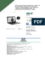 Portatil Acer Aspire Timelinex 5820tzg