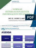 INSTR. FINANCIEROS - NIC 32-39 NIIF 7 - 9[1].ppt