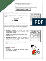 Ejercicios resueltos de Analisis Vectorial- 4TO Y 5TO