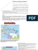 ventajas economicas y politicas de la posición de venezuela