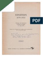 Le paradoxe d'Einstein