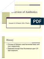 Overview of Antibiotics