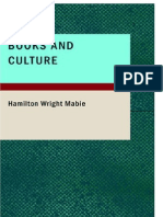 Hamilton Wright Mabie, Books and Culture