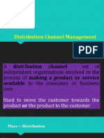 Unit-5 Distribution Channels