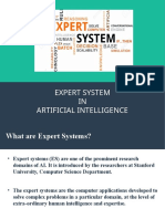 EXPERT SYSTEMS IN AI(ppt)