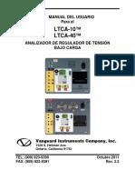 LTCA-10-40 Manual del Usario