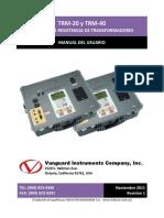 TRM-20-40 Manual del Usario