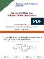 AM Q5 by Mohammad Insanur Rahman Shuvo