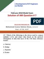 AM Q7 by Mohammad Insanur Rahman Shuvo