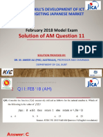 AM Q11 by Dr. M. Ameer Ali
