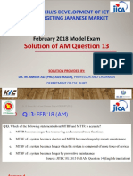 AM Q13 by Dr. M. Ameer Ali