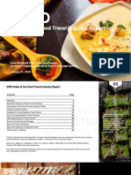 2020 State of the Food Travel Industry