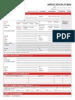 IUMW-Application Form
