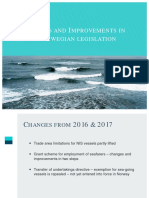NIS - Changes and Improvements in the legislation