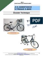 Dossier technique e-bike v2