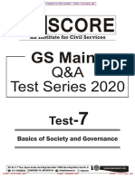GS SCORE GS Mains Q_A Test - 7 With Solution [upscpdf.com]