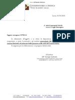 Emergenza COVID -19 nota prot. nr. 862 del 03.03.2020