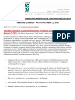 Additional Guidance_Statewide Community Pandemic Influenza Outreach and Community Education RFA
